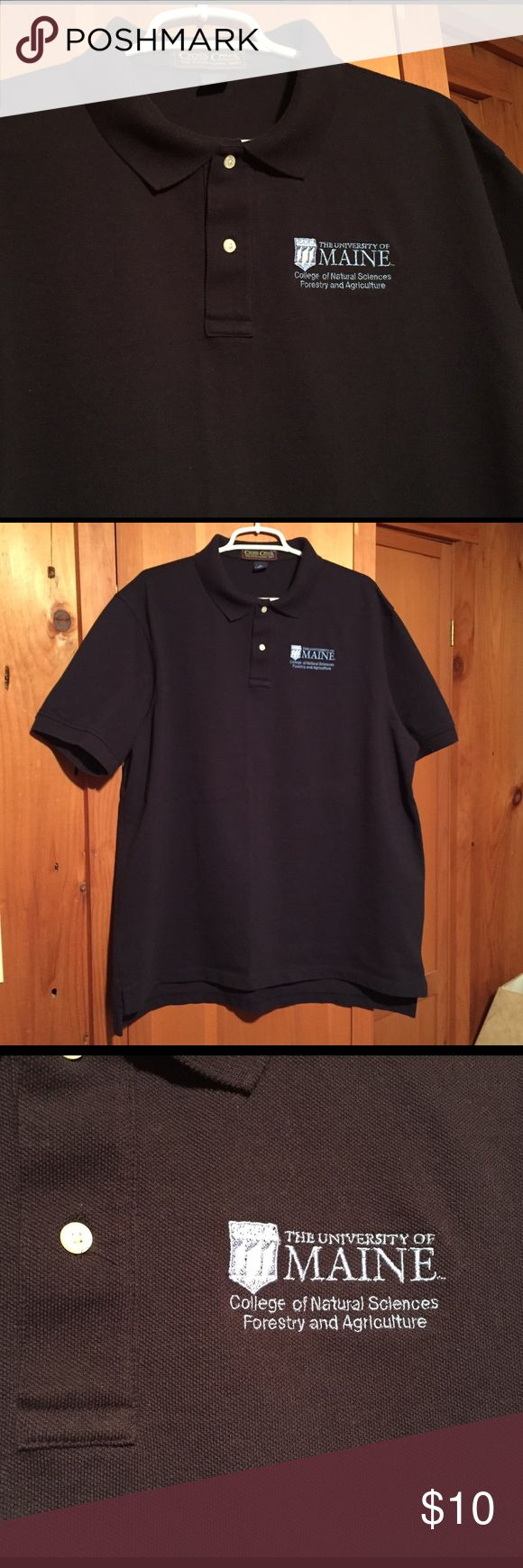 UMO Men's Polo Shirt University of Maine Polo Shirt 👕 worn but excellent condition ✨ TRADE / MAKE OFFER Shirts Polos