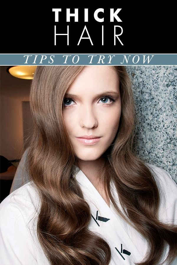 Peachy 1000 Ideas About Thick Hair Hairstyles On Pinterest Quick Hair Short Hairstyles Gunalazisus