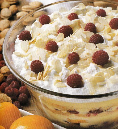 Ahududulu ve Şeftalili Pasta Tarifi
