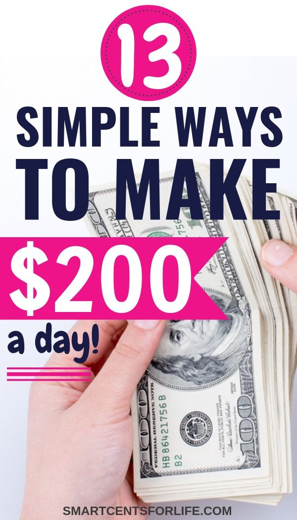 How to Make $200 in One Day (TOP Best Ideas for 2019) | Jobs