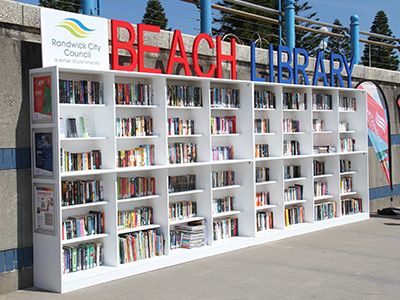 Randwick City Council marked the first day of summer with the opening of Sydney's, and likely Australia's, first free Beach Library on renowned Coogee Beach.