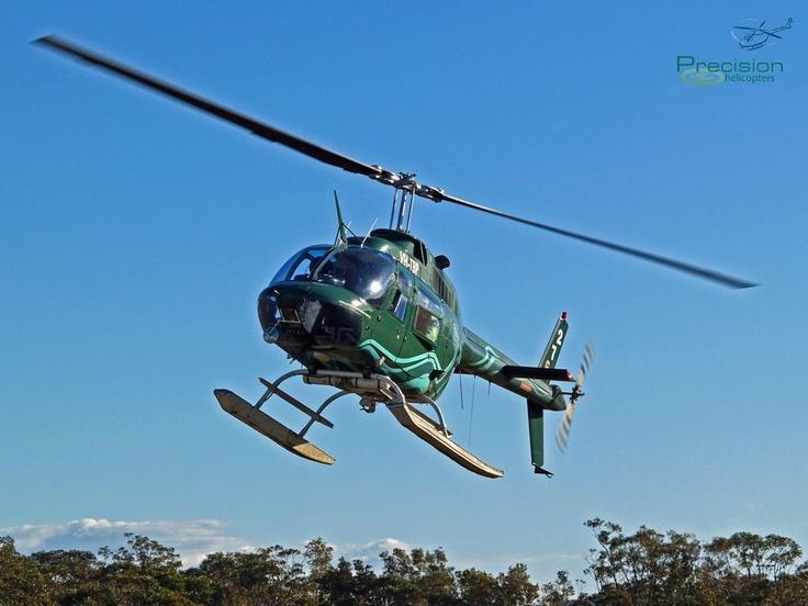 Bell JetRanger 206, Coffs Harbour NSW  www.precisionhelicopters.com.au