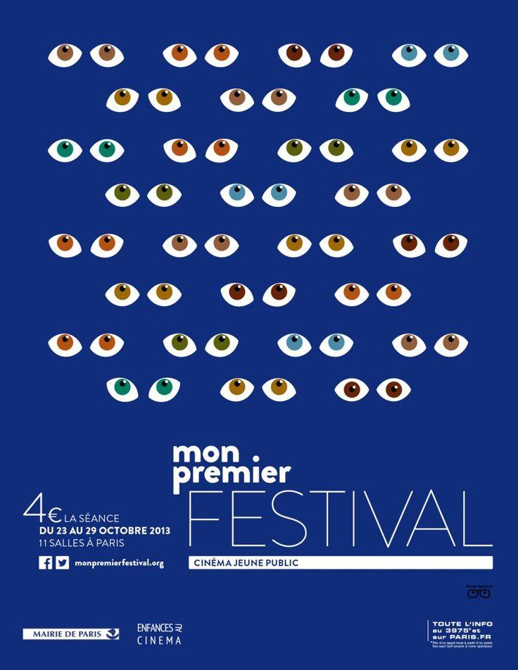"""La neuvième édition de """"Mon premier Festival"""" aura lieu du 23 au 29 octobre 2013 dans 10 salles de cinéma Art et Essai de la capitale, au Forum des images et au Louxor #Cinema #Animation #MonPremierFestival #Paris"""