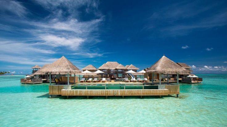 Spectacular Beach Luxury Resort in the Maldives