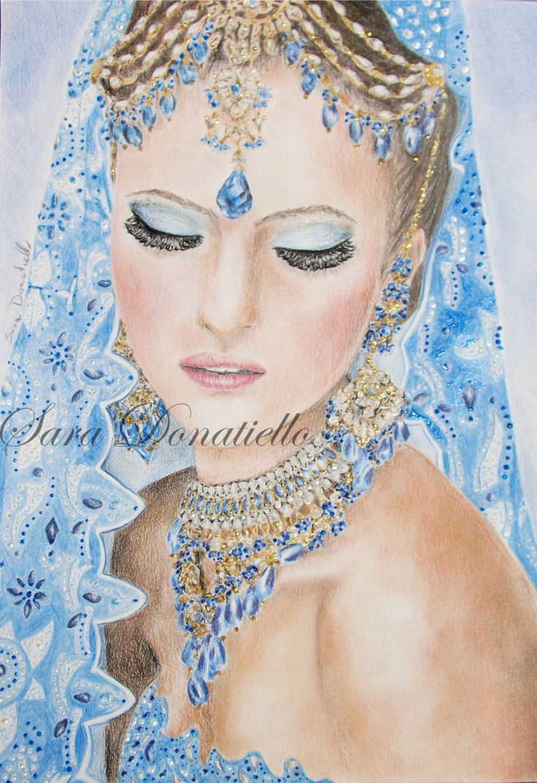 la sposa indiana by saraPortrait.deviantart.com on @DeviantArt