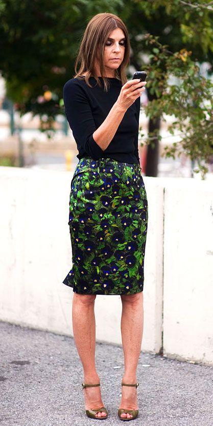 Gloria Kalil ensina os 10 mandamentos da saia lápis   Chic - Gloria Kalil: Moda, Beleza, Cultura e Comportamento