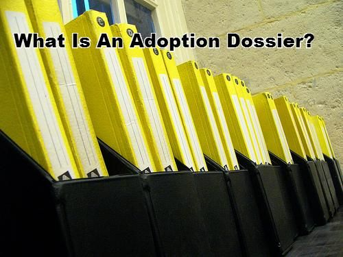 For an adoption dossier, the file includes detailed information about you and your family, and information the country has requested for an international adoption. | MLJ Adoptions