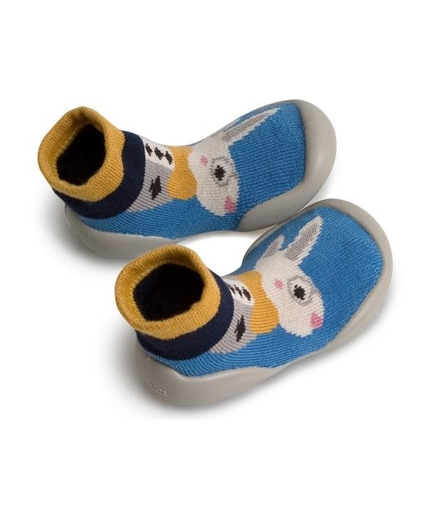 Collegien Slipper Socks Pays Des Merveilles Le lapin blanc white rabbit