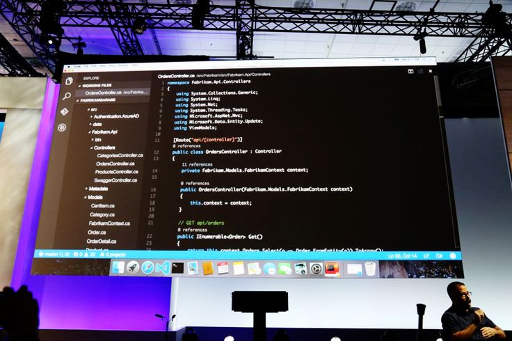 Microsoft Visual Studio for Mac OS