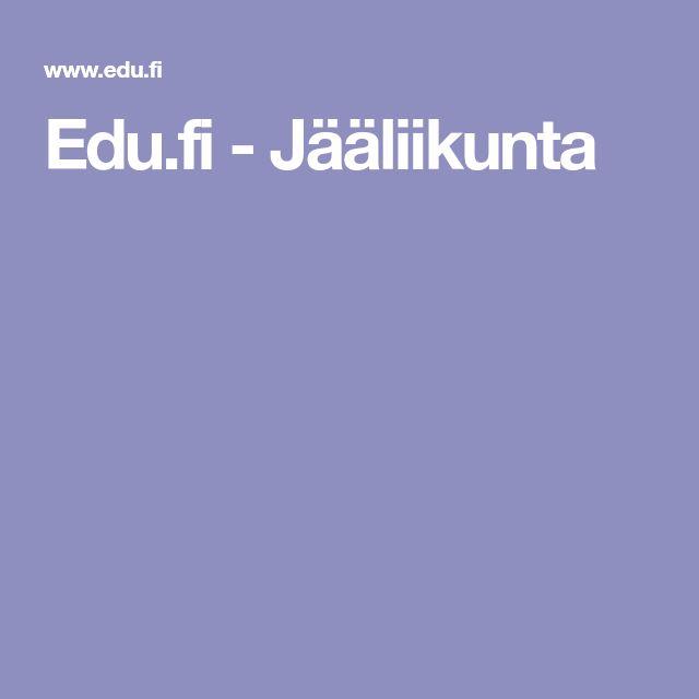 Edu.fi - Jääliikunta