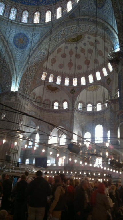 Blue Mosque, Istanbul (photo AN)