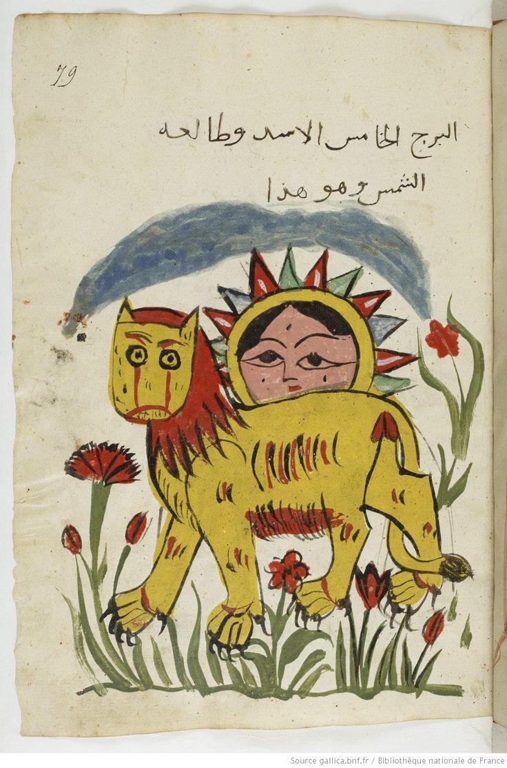 Traité des nativités, par le Ḥakîm , titre qui, probablement, désigne Aboû Maʿschar - Abumasar? - The Sun and Leo - 1550 cca