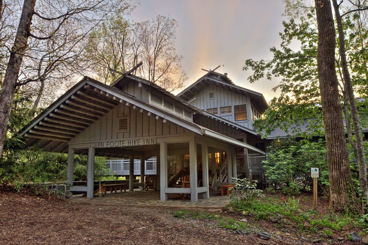 A 5 mile hike through Georgia's Chattahoochee National Forest takes you to the front door of this amazing getaway. No cars. No cell phones. Just nature.