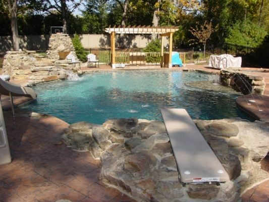 7 best natural pools images on pinterest natural pools for Natural swimming pool designs