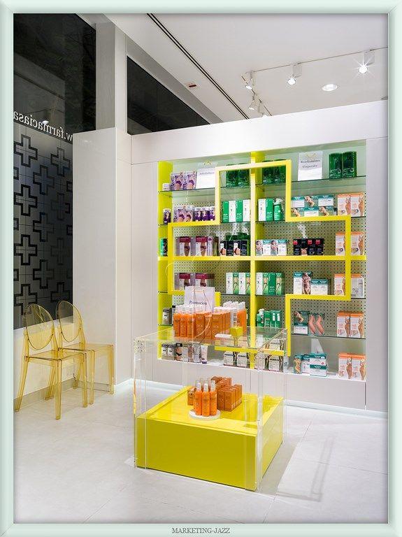 Diseño de farmacias por Marketing-Jazz - Farmacia SantaCruz