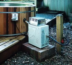 stock tank hot tub alternative, Island Hot Tub Company/Chofu Heaters - Propane Chofu Heater