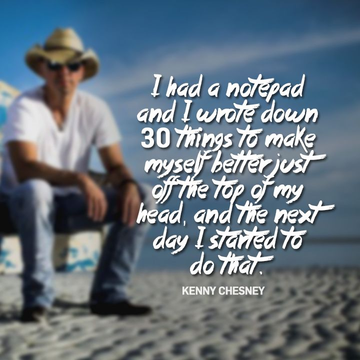 Check out https://www.facebook.com/KennyChesneyFanClub for more on Kenny Chesney!