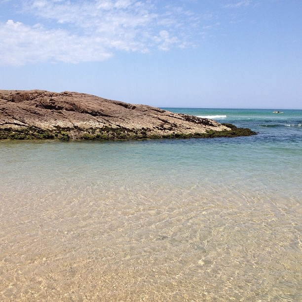 Birubi Beach Anna Bay Port Stephens NSW - Kiddies end.
