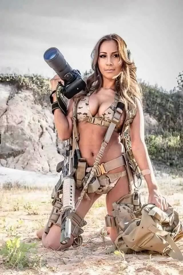 Sexy tactical girls nude are