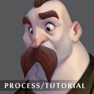 Here's a neat way of rendering characters (it's applicable to anything, really) with relative ease. it's a PhotoShop demo, so if you're not familiar with the software, it might be a bit tricky for you to get things going. I hope you find it useful, and that you have fun with it. P.