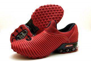 buy online d5eaa 6fd19 Nike Air Max Plus v 50 Cent Shox KPU October Red Black Mens Footwear