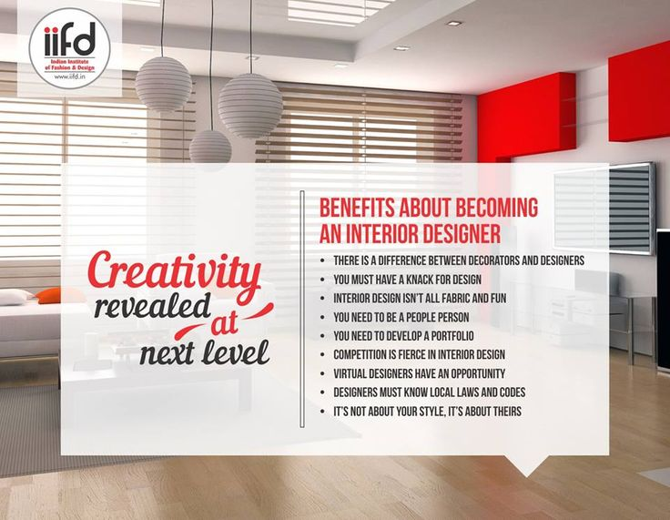 Benefits About Becoming An Interior Designer For Admission Process Call 91 9041766699