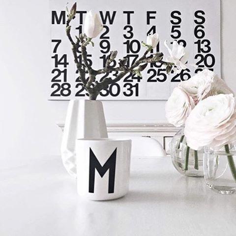 Black & white details via @minidot.de  2017 Stendig calendars available for pre order now www.simplestyleco.com.au