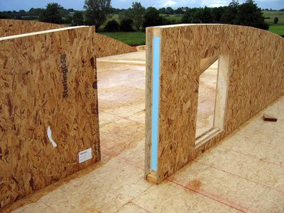 Sip panels vitruvian sustainable building materials for Sip house cost