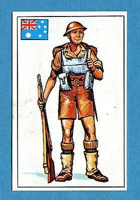 ARMI E SOLDATI - Edis 71 - Figurina-Sticker n. 403 - SOLDATO AUSTRALIANO -Rec