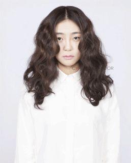 Be a flower #long #hair #beauty #cut #chahongardor
