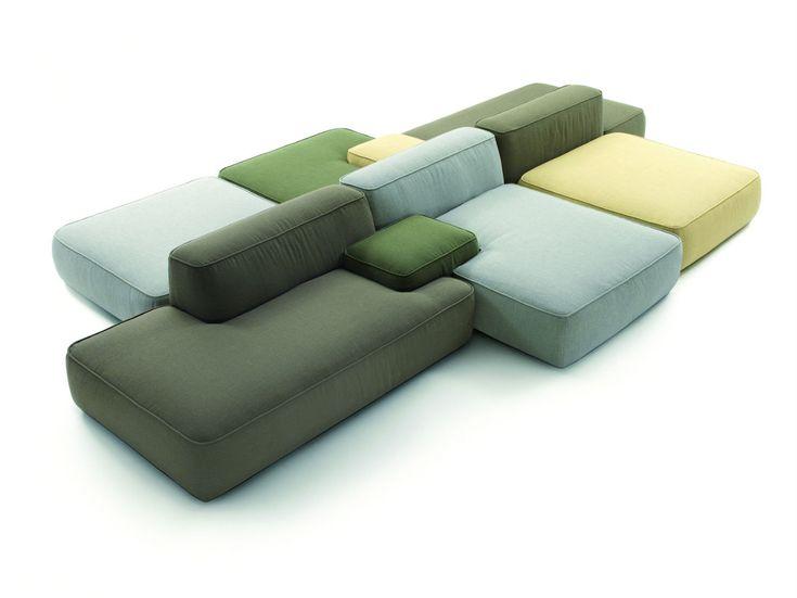 Sillones modulares es la línea Cloud, diseñada por Francesco Rota para Lema.