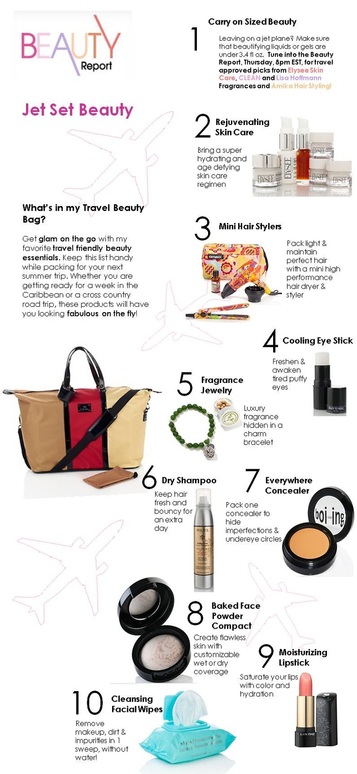 jet set beauty picks from the beauty report hsn my. Black Bedroom Furniture Sets. Home Design Ideas