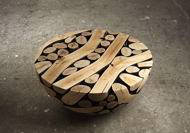 Sleek Wooden Furniture Design by Lee Jae Hyo | Wave Avenue