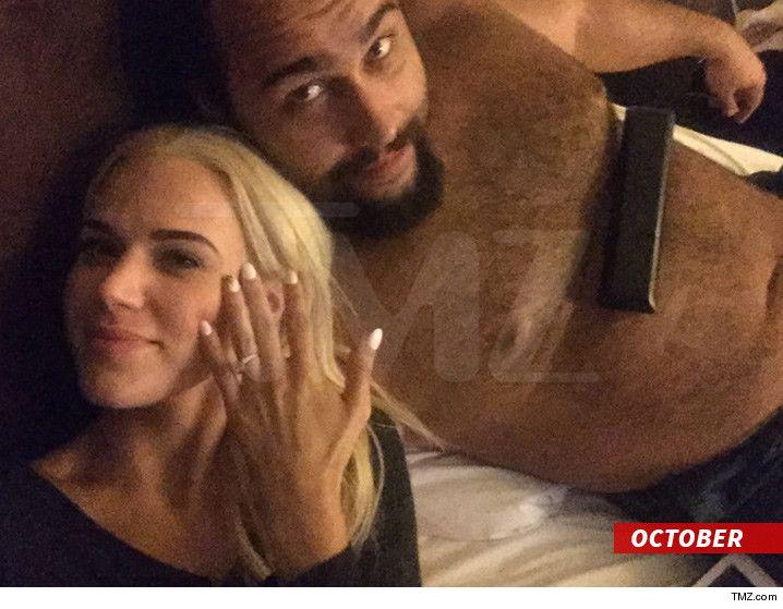 WWE Stars Lana and Rusev -- We're Having Two Weddings! - http://blog.clairepeetz.com/wwe-stars-lana-and-rusev-were-having-two-weddings/