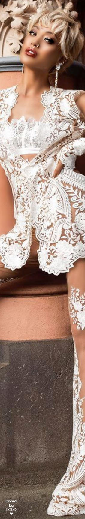 #micahgianneli street chic lace