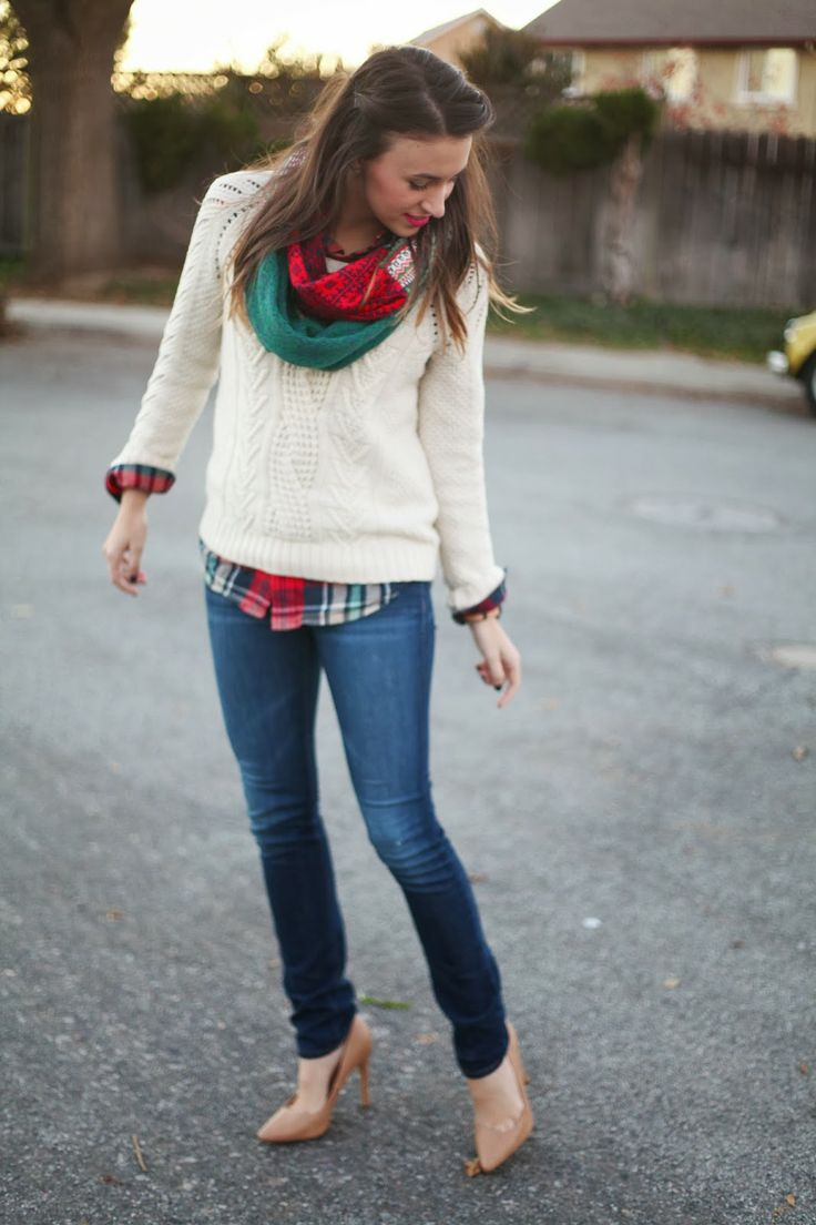 Seasonal Sweaters & Holiday Colors!