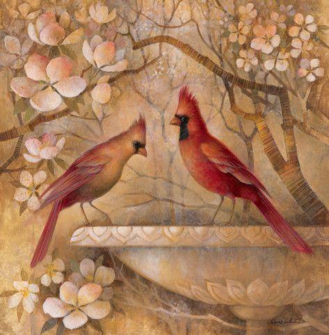 Elegance in Red II Art Print