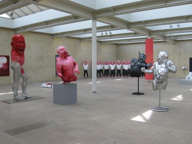 Beelden Aan Zee - Modern Chinese Sculpture Exhibit (2011)