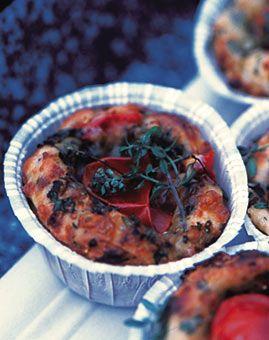 Käse-Tomaten-Muffins - Rezepte - [LIVING AT HOME]