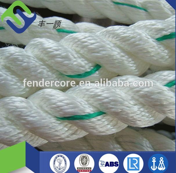 Florecence Nylon fishing winch/anchor rope/mooring rope