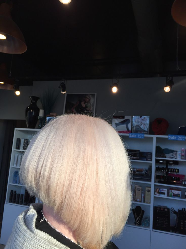 Colour Correction  with Olaplex ... Had red and gold hair and now an icy blonde hair