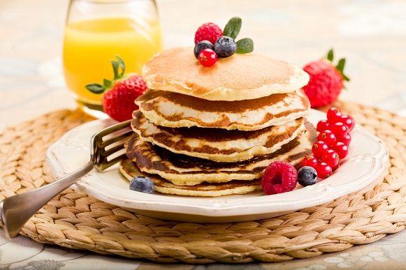 Un ottima colazione proteica per inziare la giornata.