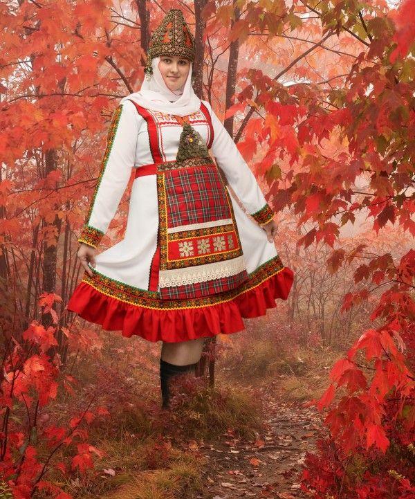 идёт, скорее, мордовский национальный костюм женский фото любовь счастье тесным