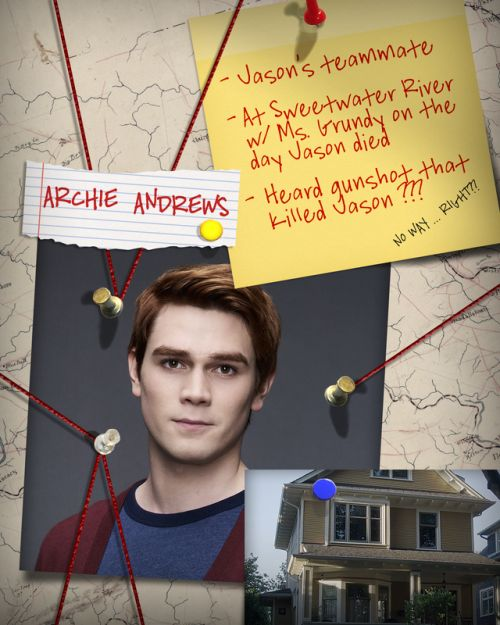 Everyone has a secret. Get to know the suspects and theories of Jason Blossom's murder on Riverdale: on.cwtv.com/RVR5tb