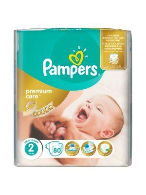 Procter & Gamble PAMPERS Premium Care 2 New Baby pieluchy 80szt pieluszki