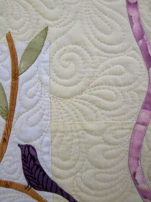 great background fill...I love doing this kind of quilting...fun, easy and looks so awesome