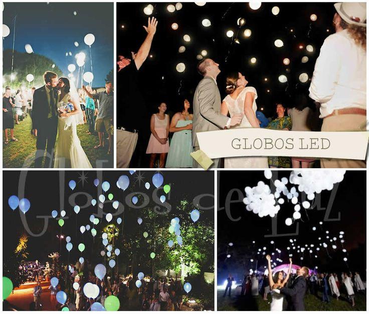 Globos led ideas originales para decorar boda - Decoracion de bodas originales ...
