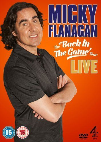 Micky Flanagan: Back in the Game Live [DVD] DVD ~ Micky Flanagan, http://www.amazon.co.uk/dp/B0083I71BC/ref=cm_sw_r_pi_dp_IvqOsb07Z238Q