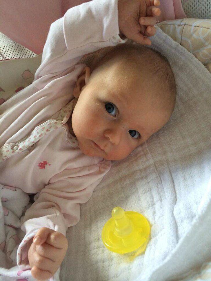 Pin for Later: Jillian Harris Shows Off Her Newborn Baby Boy With an Adorable Instagram Snap Hazel Krasinski