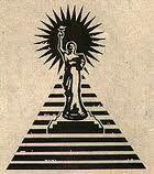 Illuminati Logo Columbia Pictures Pyramid Sun